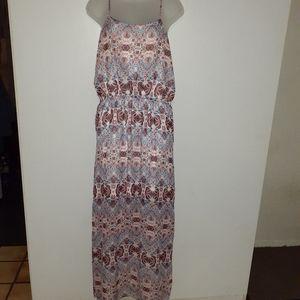 NWOT~Pink Rose~ Maxi Dress